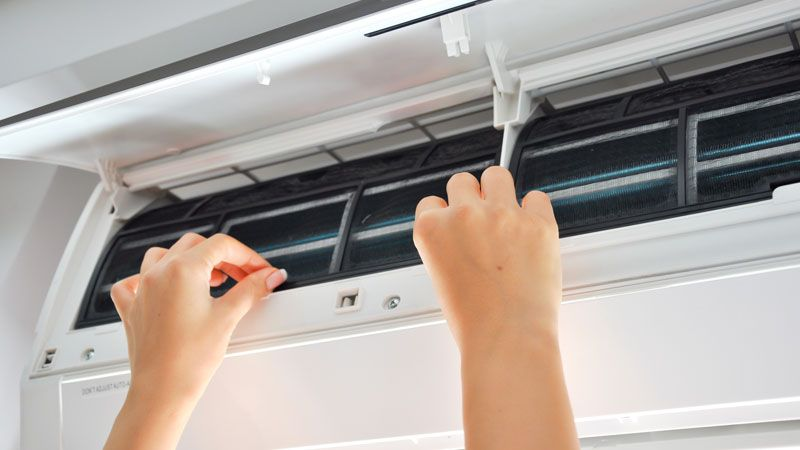 Limpieza aire acondicionado