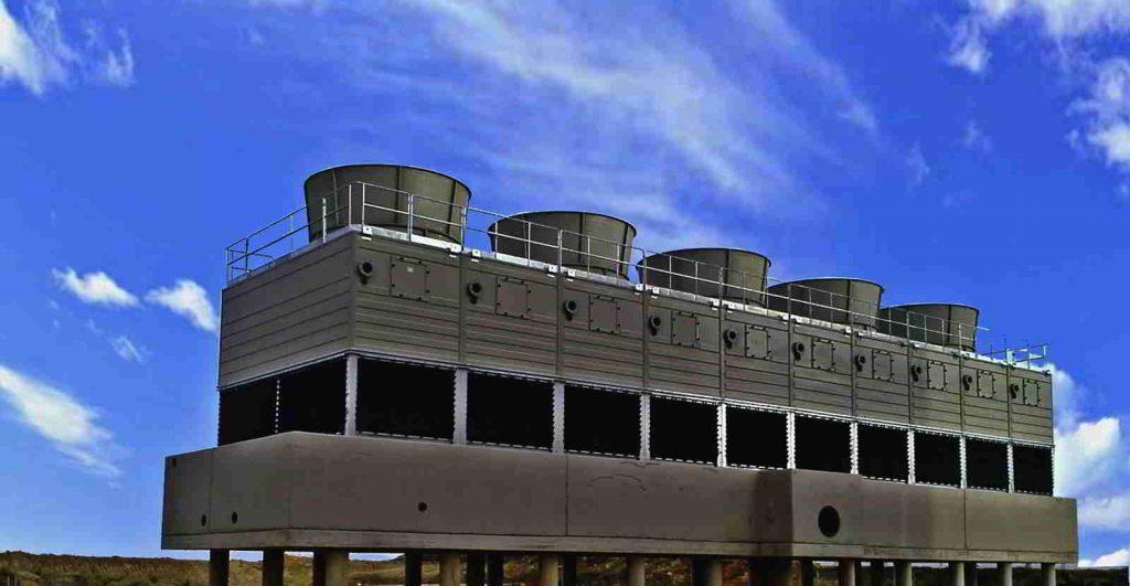 Adecuación, acondicionamiento y reparación de torres de refrigeración